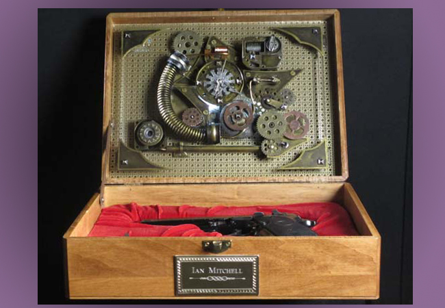 Steampunk box -