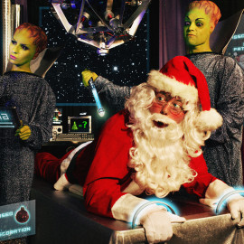Seasons Greetings Earthlings: Our 2012 Xmas Card