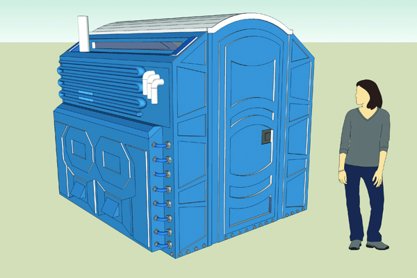 Porta-Potty Time Machine